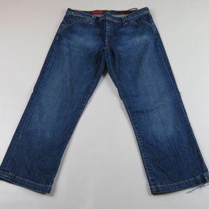 AG ADRIANO GOLDSCHMIED The Split Capri Jeans